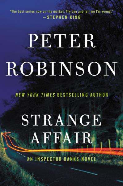 Strange Affair peter robinson dci banks dry bones that dream