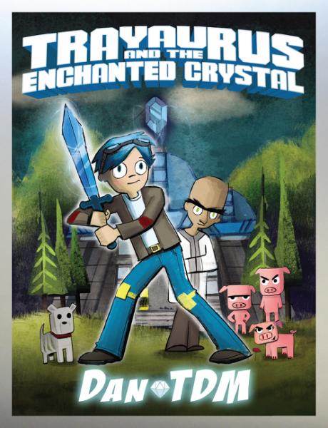DanTDM: Trayaurus and the Enchanted Crystal enchanted wanderer the