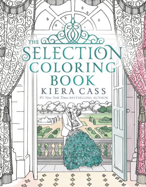 The Selection Coloring Book cass kiera selection book 1 the cass kiera