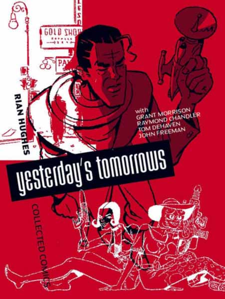 Yesterday's Tomorrows cover run the dc comics art of adam hughes