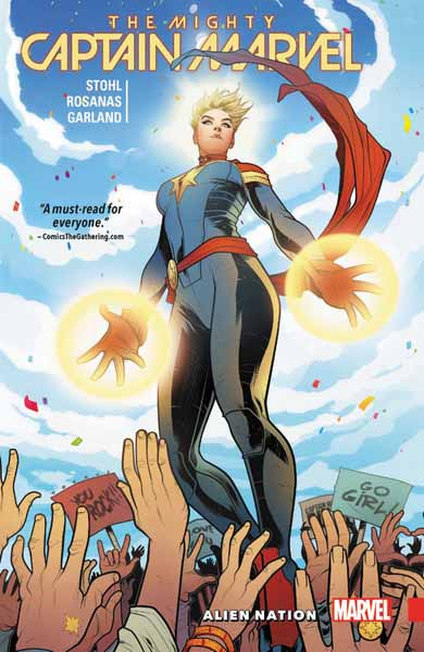 The Mighty Captain Marvel Volume 1: Alien Nation
