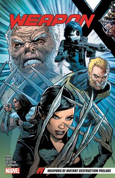 Weapon X Vol. 1: Weapons of Mutant Destruction Prelude футболка стрэйч printio weapon of mass destruction