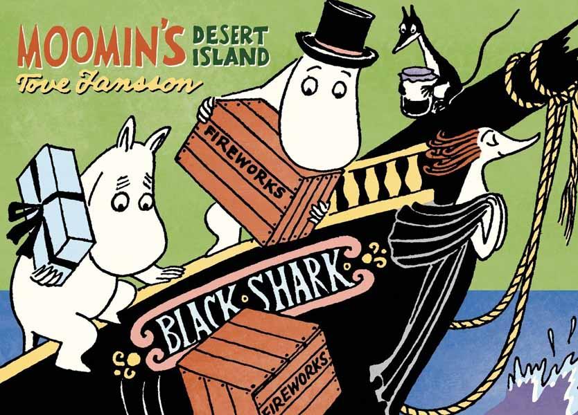 Moomin's Desert Island desert and the blade