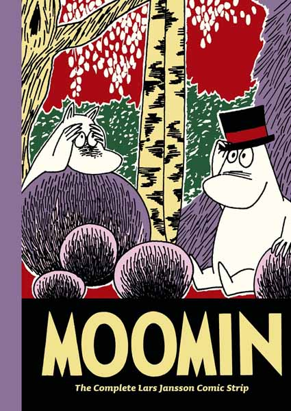 Moomin Book Nine: The Complete Lars Jansson Comic Strip damsel in distress