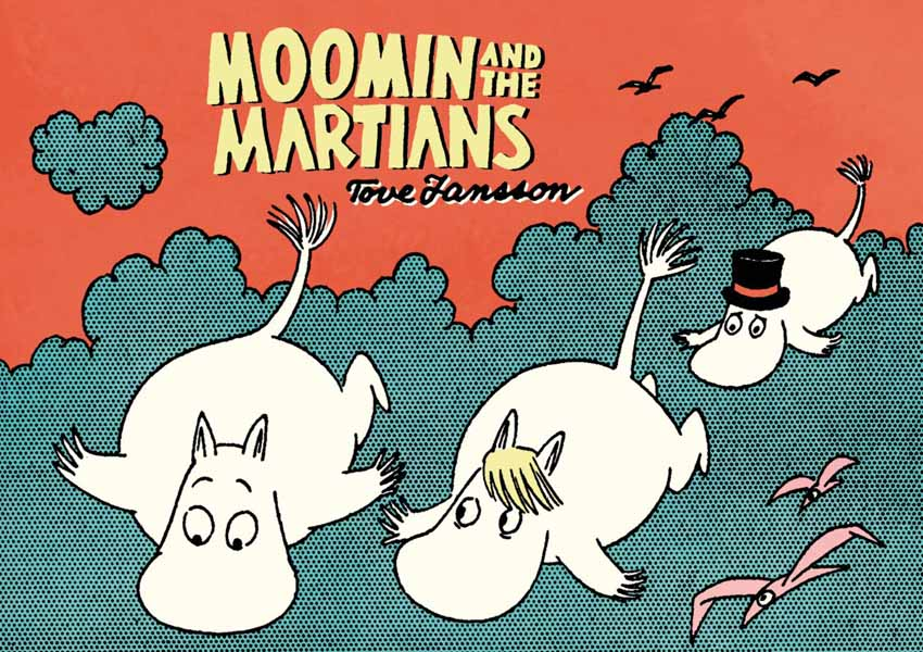 Moomin and the Martians moomin and family life