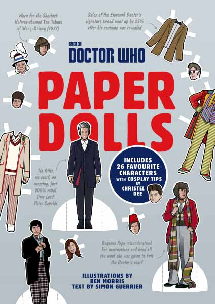Doctor Who Paper Dolls 7 6cm 15g paillette fishing lures soft lure crankbaits tackle hooks