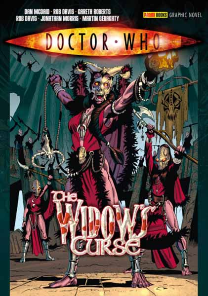 Doctor Who: The Widow's Curse jerry and the joker adventures and comic art