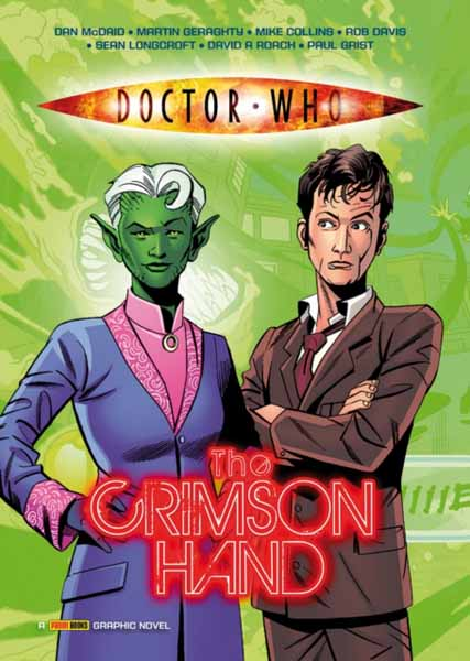 Doctor Who: The Crimson Hand the batman adventures volume 2