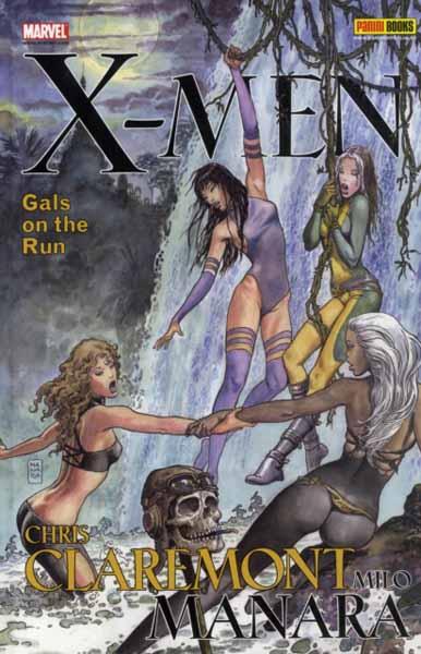 X-Men: Gals On The Run marvel universe by chris claremont omnibus