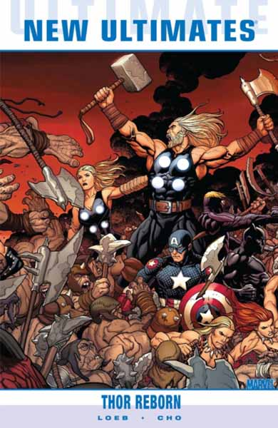 Ultimate Comics New Ultimates Vol.1: Thor Reborn ultimate comics new ultimates thor reborn