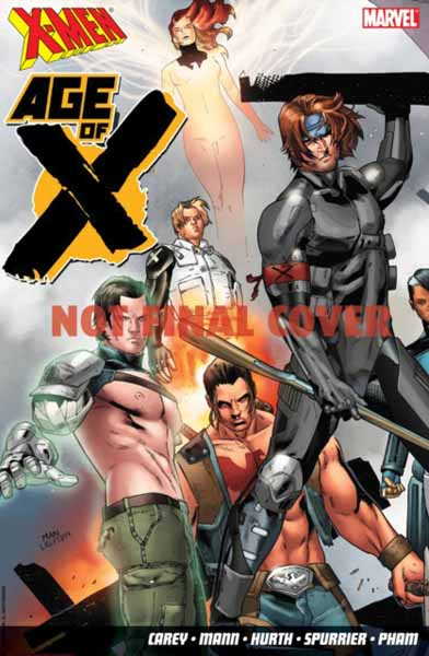 X-Men: Age Of X new mutants
