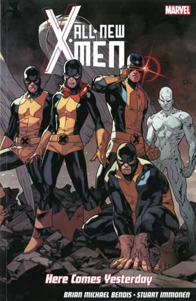 All-New X-Men: Here Comes Yesterday all new invaders volume 3 the martians are coming