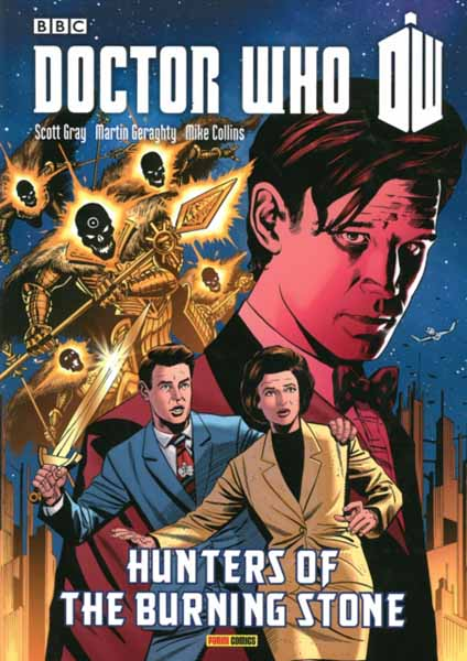 Doctor Who: Hunters Of The Burning Stone arnopp jason doctor who the gemini contagion