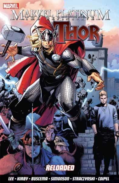 Marvel Platinum: The Definitive Thor 2 marvel platinum the definitive wolverine reloaded