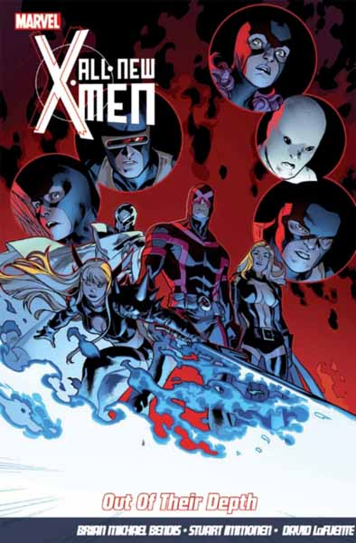 All-New X-Men Vol.3: Out Of Their Depth powers the definitive hardcover collection vol 7
