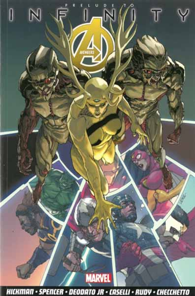 Avengers Vol.3: Infinity Prelude the sirens of titan