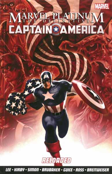 Marvel Platinum: The Definitive Captain America Reloaded лонгслив printio once upon a time in america однажды в америке