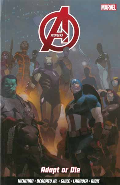 Avengers Vol. 4: Adapt Or Die crusade vol 3 the master of machines