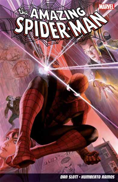 Amazing Spider-Man Volume 1: The Parker Luck spider man one moment in time