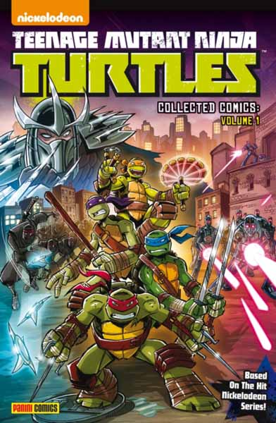 Teenage Mutant Ninja Turtles Collected Comics Volume 1 рюкзак sprayground teenage mutant ninja grillz backpack b190b leonardo blue