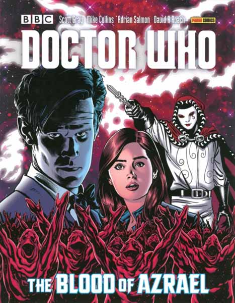 Doctor Who: The Blood Of Azrael jerry and the joker adventures and comic art