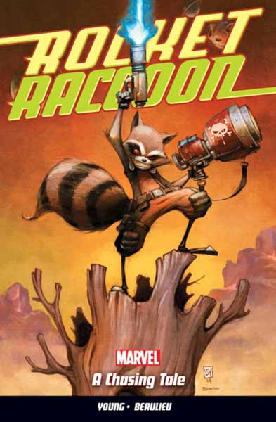 Rocket Raccoon Vol.1 the painter of battles a novel
