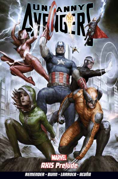 Uncanny Avengers Volume 5: AXIS Prelude uncanny avengers volume 1 counter evolutionary