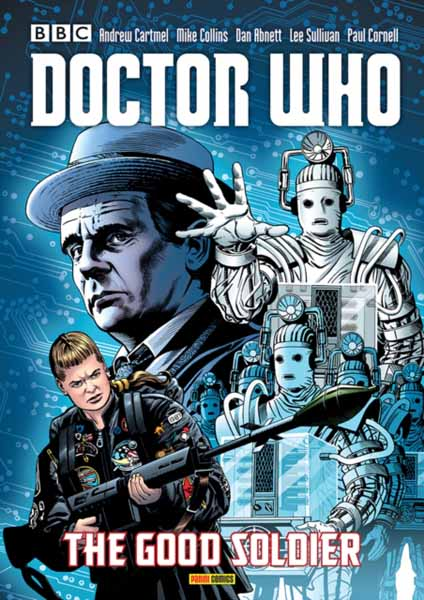 Doctor Who: The Good Soldier jerry and the joker adventures and comic art