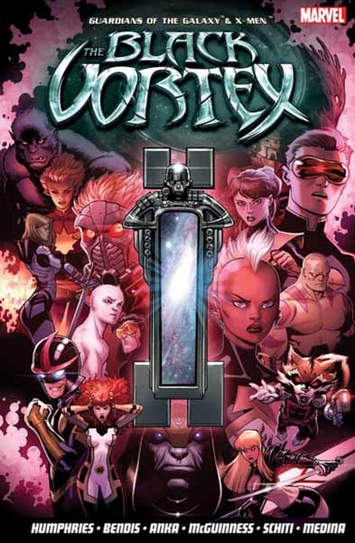 Guardians Of The Galaxy & X-Men: The Black Vortex avengers маска captain america цвет голубой