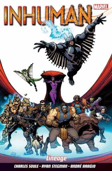 Inhuman Vol. 3: Lineage all new inhumans vol 2 skyspears