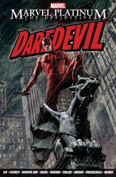 Marvel Platinum: The Definitive Daredevil marvel platinum the definitive deadpool