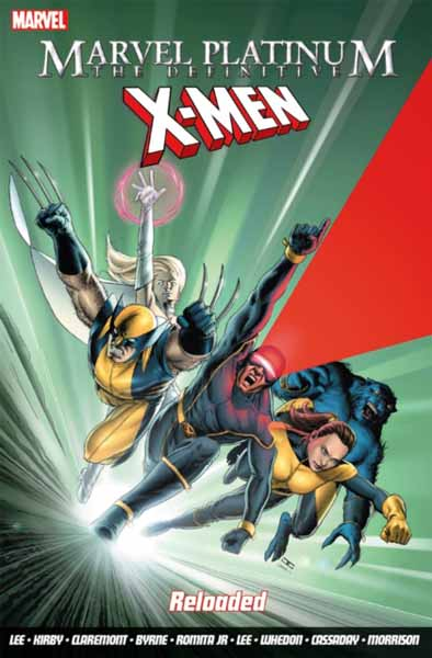 Marvel Platinum: The Definitive X-Men Reloaded powers the definitive hardcover collection vol 7
