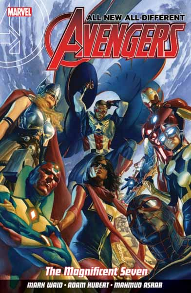 All-New All-Different Avengers Volume 1: The Magnificent Seven uncanny avengers volume 1 counter evolutionary