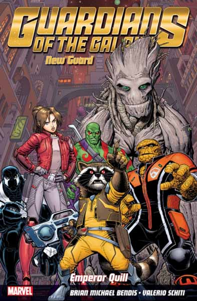 Guardians Of The Galaxy: New Guard Volume 1 - Emperor Quill the ninth life of louis drax