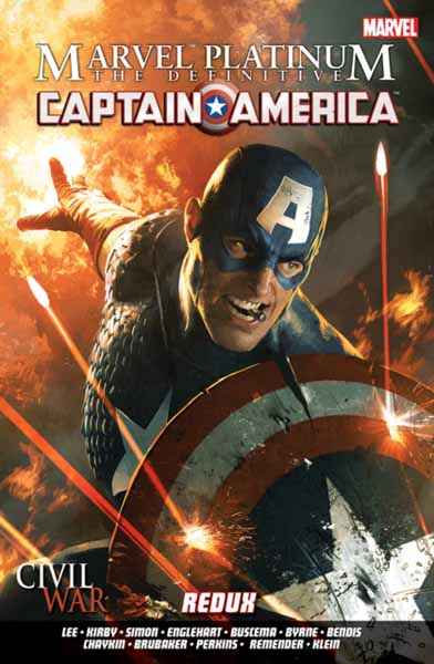 Marvel Platinum: The Definitive Captain America Redux marvel platinum the definitive x men reloaded
