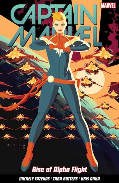 Captain Marvel Volume 1: Rise Of Alpha Flight svs pc12 plus