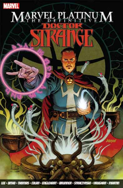 Marvel Platinum: The Definitive Doctor Strange marvel platinum the definitive wolverine reloaded