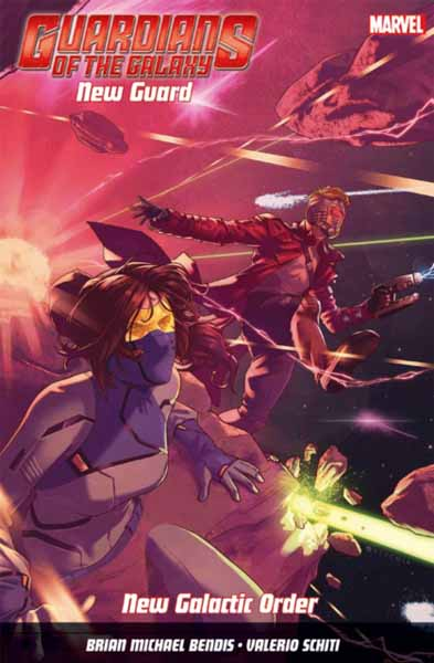 Guardians Of The Galaxy: New Guard Vol. 2: New Galactic Order майка классическая printio guardians of the galaxy vol 2