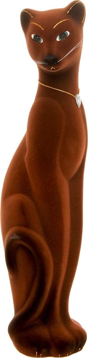 Копилка Керамика ручной работы Кошка Багира, 10 х 12 х 43 см1120217Женщины любят баловать себя покупками для красоты и здоровья. С помощью такой копилки можно незаметно приблизиться к приобретению желаемого. Образ кошки всегда олицетворял привлекательность и символизировал домашнее спокойствие. Поставьте изделие возле предметов роскоши, и оно будет способствовать их преумножению.