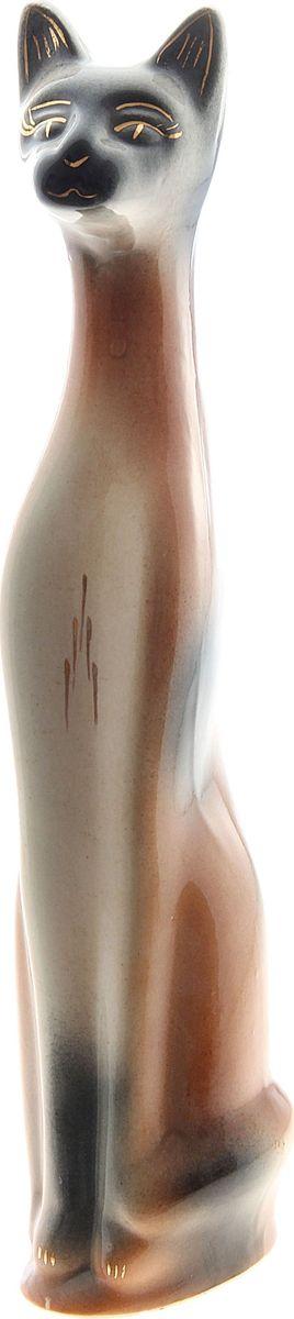 Копилка Керамика ручной работы Кот Ральф, 7 х 12 х 43 см749036Помните, как порой бывают необходимы не очень большие средства на какое-то нужное и важное дело, но они отсутствуют? Забудьте. В тот момент у вас не было копилки, которая помогла бы в сбережении денег. Изделие в виде котов поспособствует изгнанию злых духов из дома и защищает от сглаза. Кот символизирует домашний уют, тепло семейных отношений, психологический и эмоциональный комфорт.
