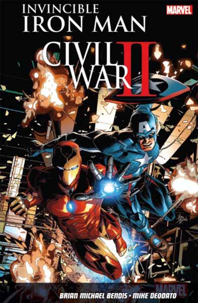 Фото Invincible Iron Man Vol. 3: Civil War II