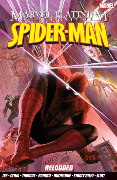 Marvel Platinum: The Definitive Spider-Man Reloaded marvel platinum the definitive wolverine reloaded