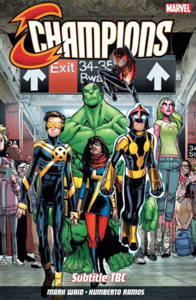 Champions Vol. 1: Change The World the totally awesome hulk vol 3