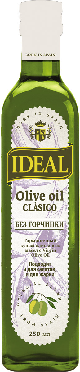 Ideal Clasico масло оливковое, 0,25 л