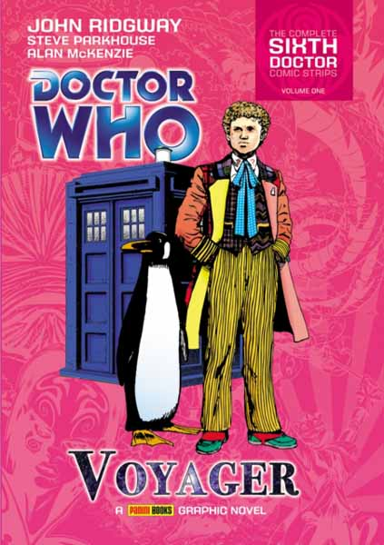 Doctor Who: Voyager the complete green lama featuring the art of mac raboy volume 1