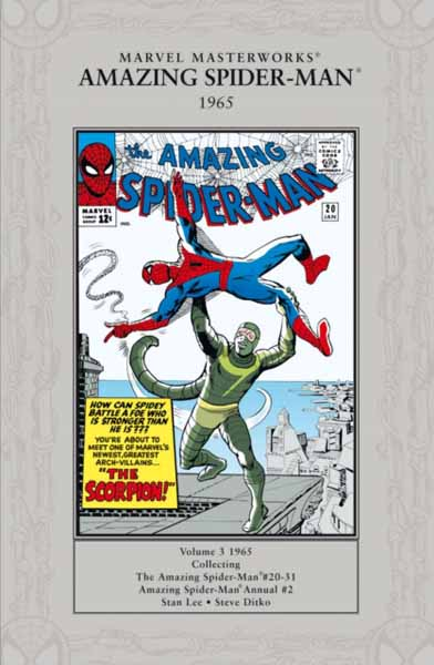 Marvel Masterworks. Amazing Spider-man 1965 jerry and the joker adventures and comic art