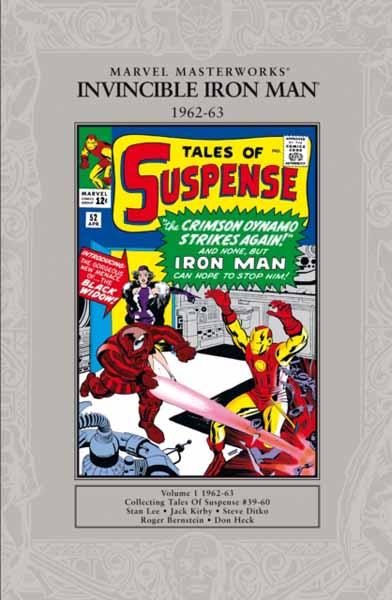 Marvel Masterworks Iron Man 1963-64 marvel masterworks the invincible iron man volume 1