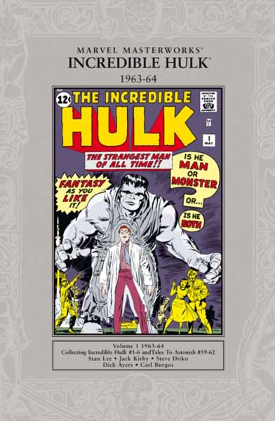 Marvel Masterworks: The Incredible Hulk 1962-64 marvel masterworks the savage she hulk vol 1