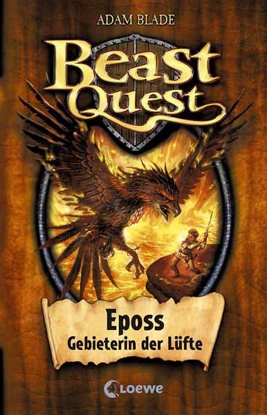 Beast Quest - Eposs, Gebieterin der Lufte сапоги quelle der spur 1013540