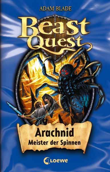 Beast Quest - Arachnid, Meister der Spinnen sound quest